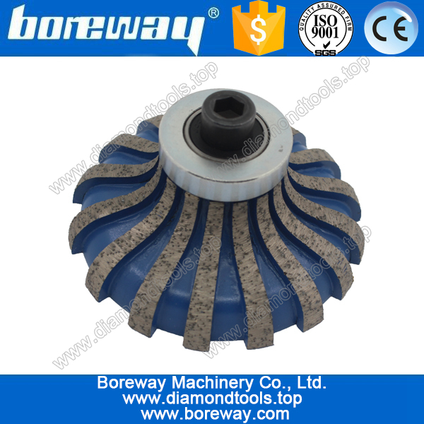 F30*M10 segmented type diamond router bits for stone slabs