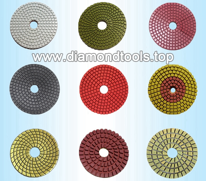 diamond polishing pads for stsone concrete