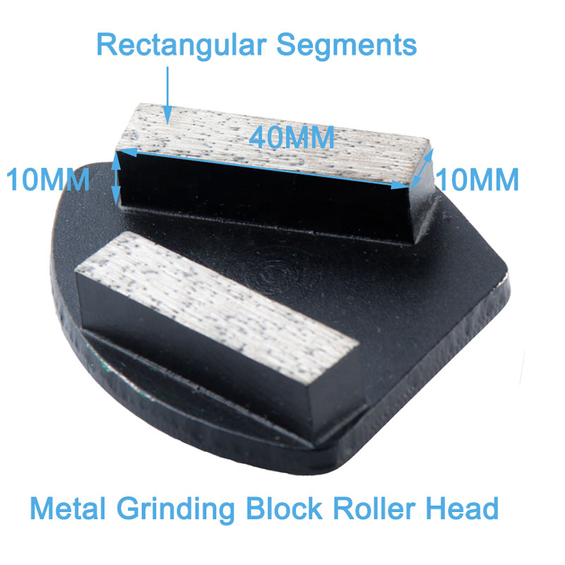 Metal Diamond Grinding Head Concrete Grinding Pad