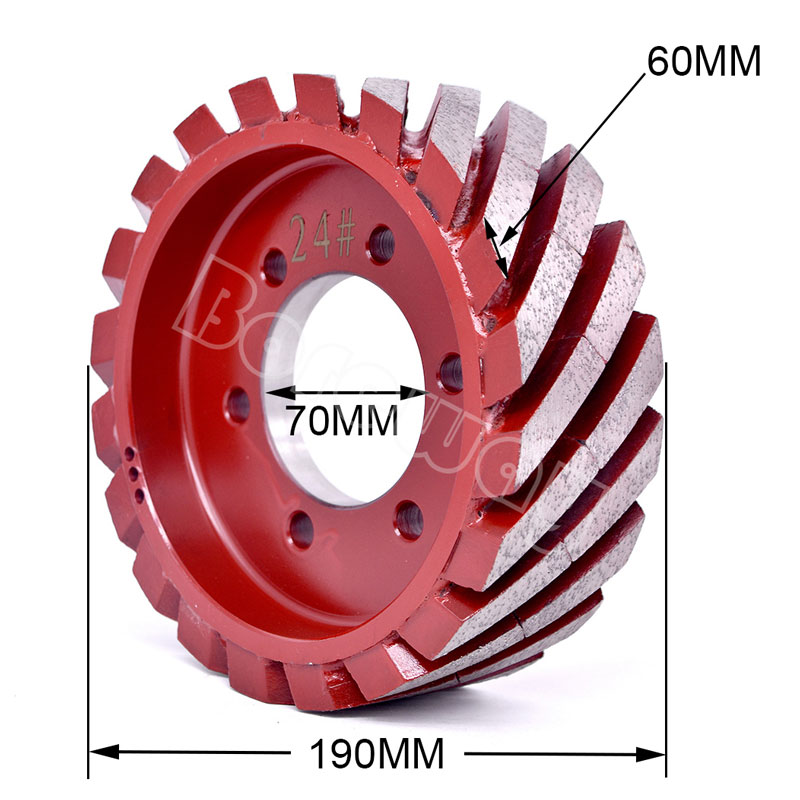Sale In India Turkey Brazil Wet Use Boreway Quartz Calibrating Wheels For Automatic Disc Calibrating Grinding Machine Line