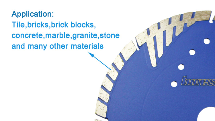 Diamond Saw Blade Disk Tools With Protect Teeth