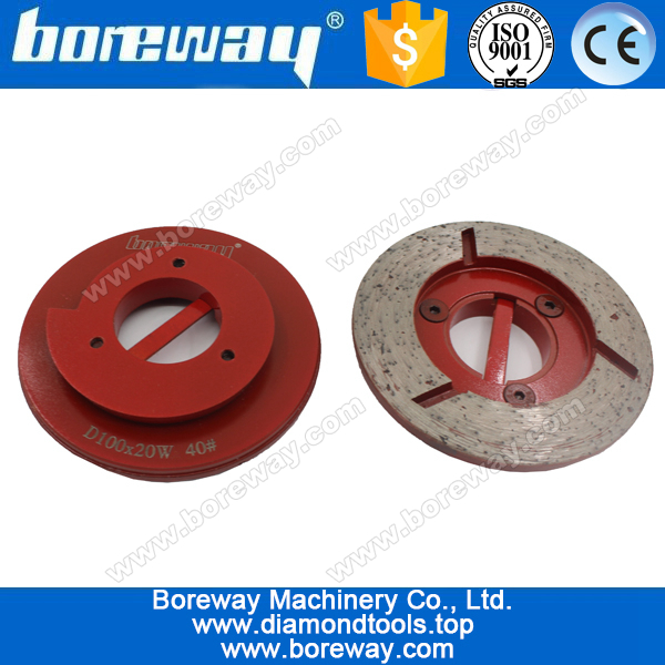 continuous rim snail lock diamond cup grinding wheels