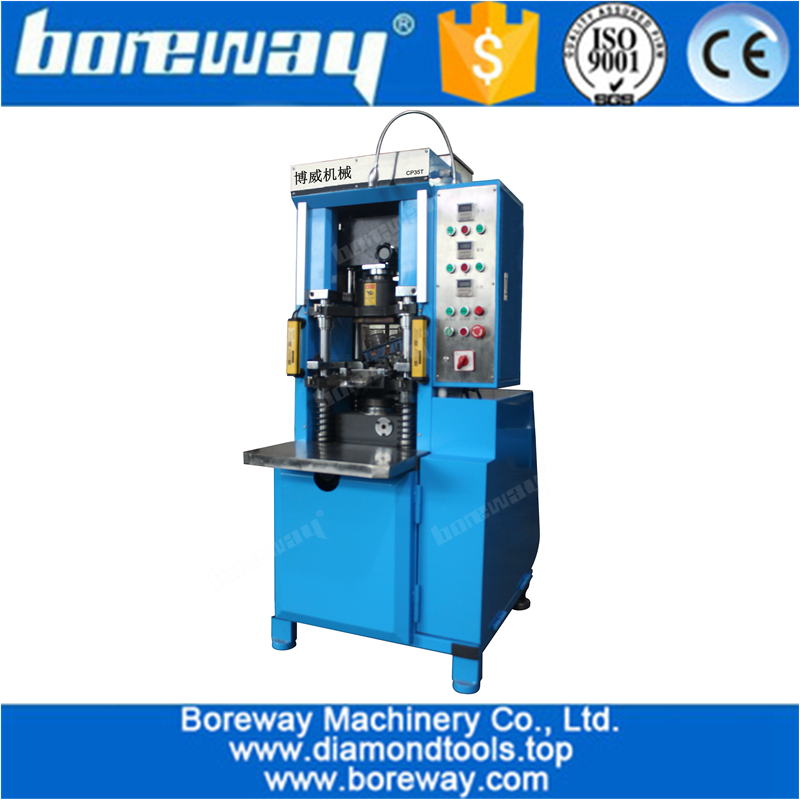 Fully Automatic Mechanical cold press machine for making diamond segments
