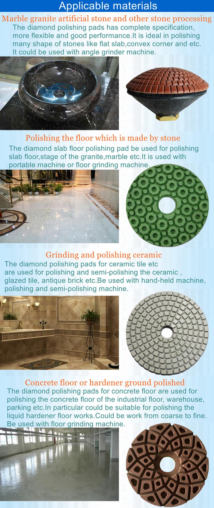 Diamond polishing pads for stone ceramic concrete and so on diamond polishing pads for stone concrete ceramic and so on dailygadgetfo Choice Image