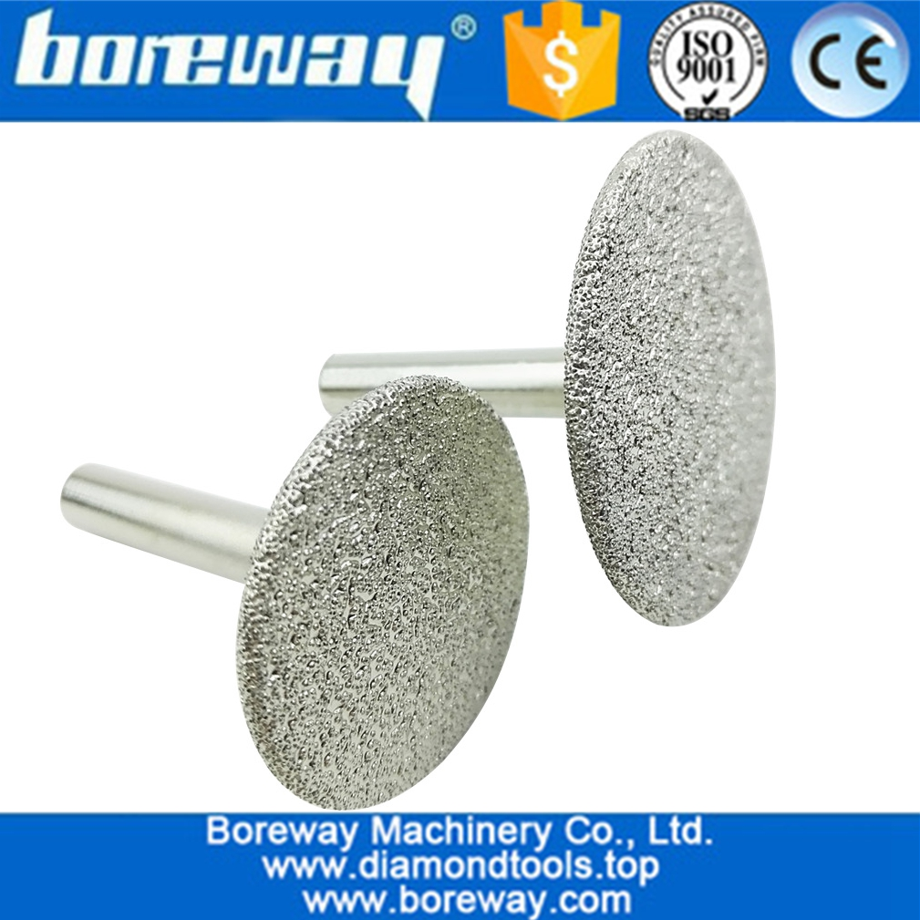 CNC Tool Vacuum Brazed Diamond Carving Bits, Diamond Engraving Bits for stone grinding and carving