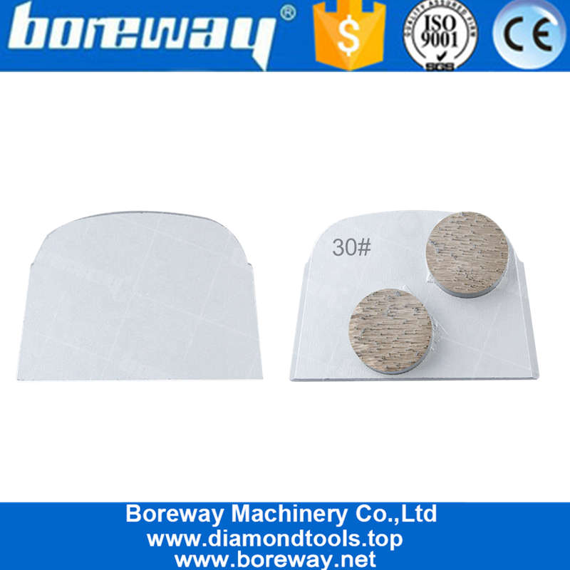 Factory Price Redi Lock Concrete Grinding Shoes Diamond Grinding Plate Pads For Husqvarna Machine