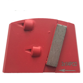 Lavina Diamond Tool With Double Quarter PCD Segments And One Bar Segment