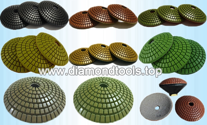 bowl shaped diamond polishing pads