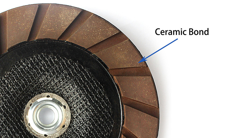 7 Inch Dry Use Ceramic Bond Diamond Grinding Cup Wheel