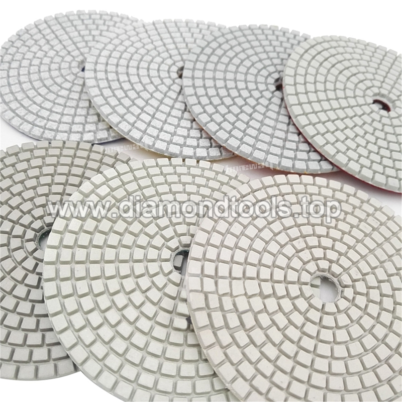 7Pcs/Set Resin Bond Stone diamond polishing pad 2