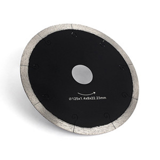 5 Inch Hot Pressed Segments Cutting Disc For Ceramic Tile Marble