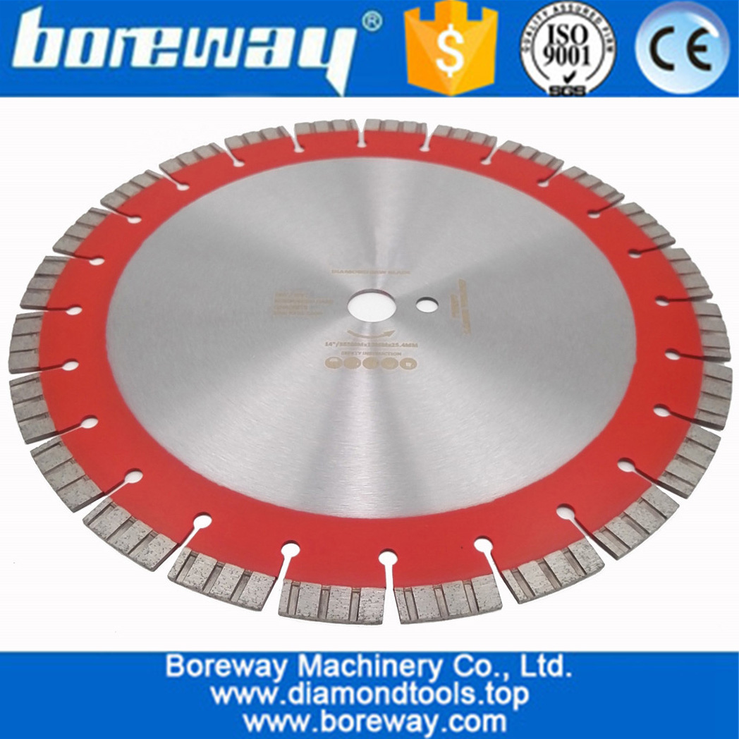 Laser welded High Turbo segments Diamond Saw Blade Cutting Reinforced concrete Disc Diamond Wheel