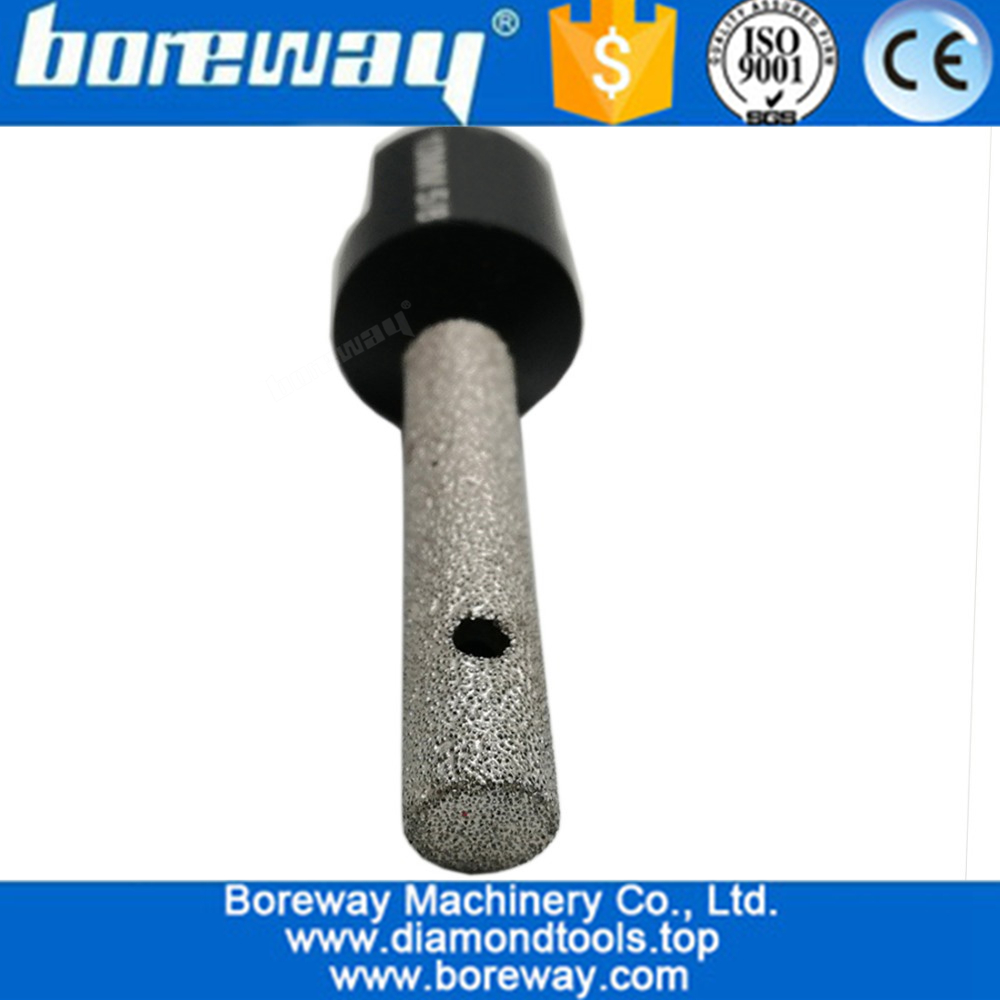 10mm Vacuum brazed Diamond Finger Bits best quality CNC diamond tools for stone granite marble ceramic and more