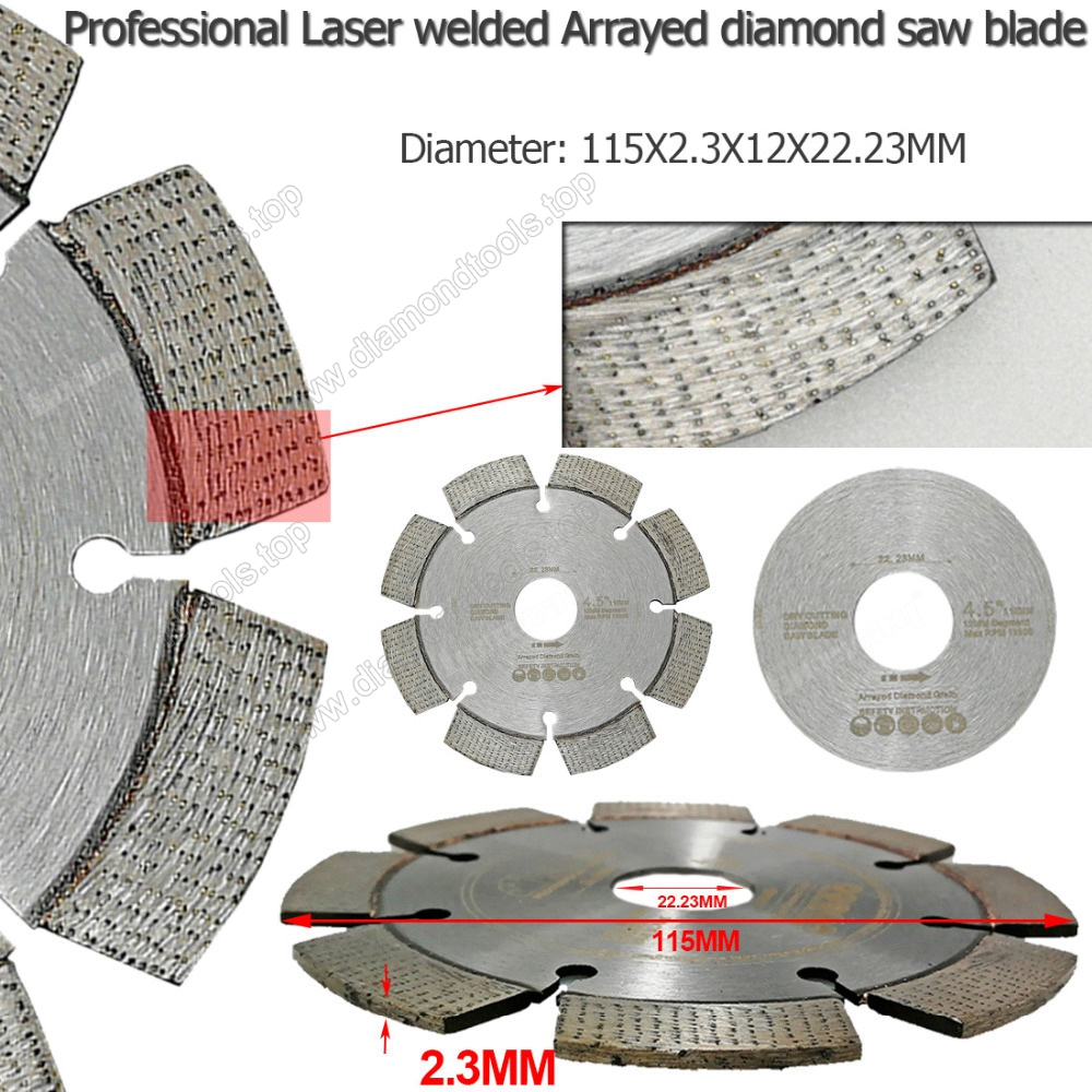 diamond saw blade segmented blade