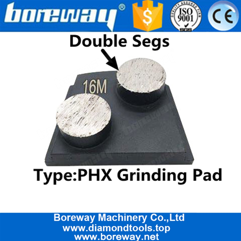 Trapzoid Tow Round Segment Grinding Pad