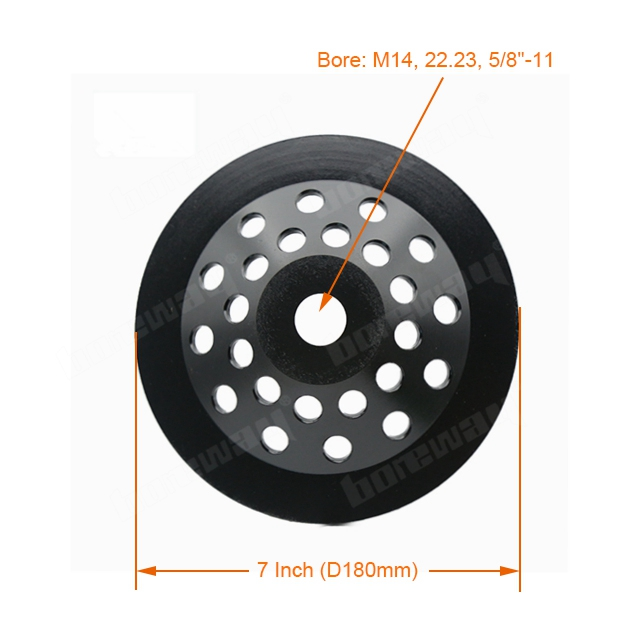 7 Inch Diamond Grinding Cup Wheel