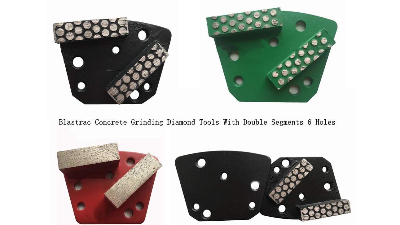 Blastrac Concrete Grinding Diamond Tools