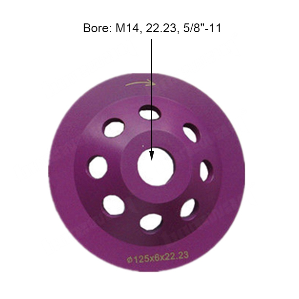125mm Diamond Grinding Cup Wheel