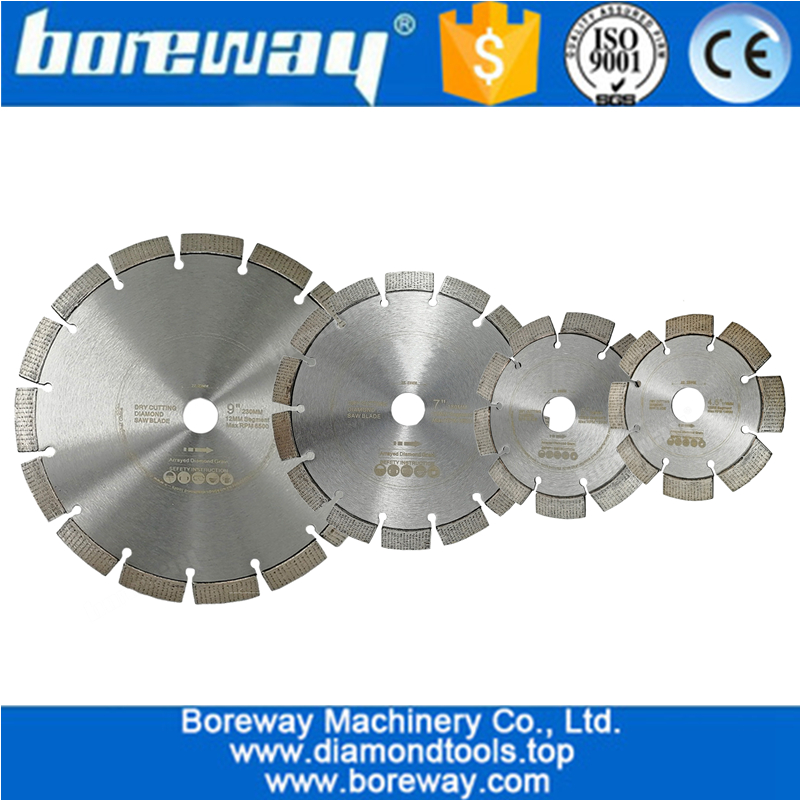 Laser Welded Diamond Saw Blade  Segmented blade China concrete saw blade