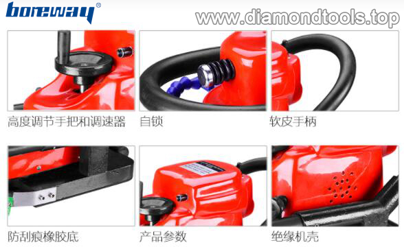 Best Quality Portable Stone Edge Profile Router Machine for sale Stone Profile Grinder 04