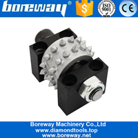 Boreway Diamond Bush Hammer Rollers For Grinding Stone Granite Marble Concrete