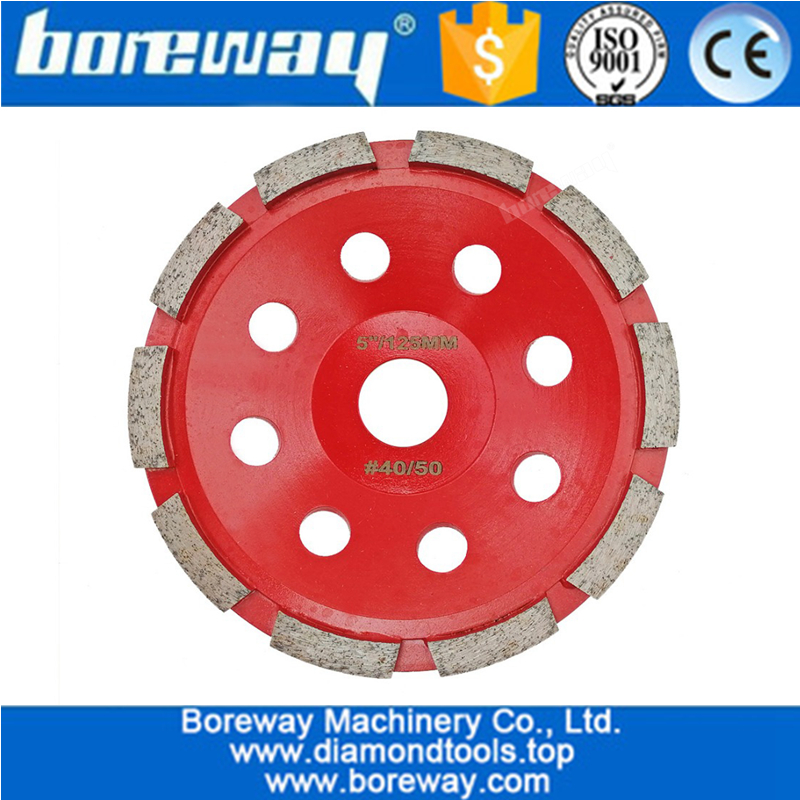 Diamond Tool Single Row Segmented Diamond Grinding Cup Wheel