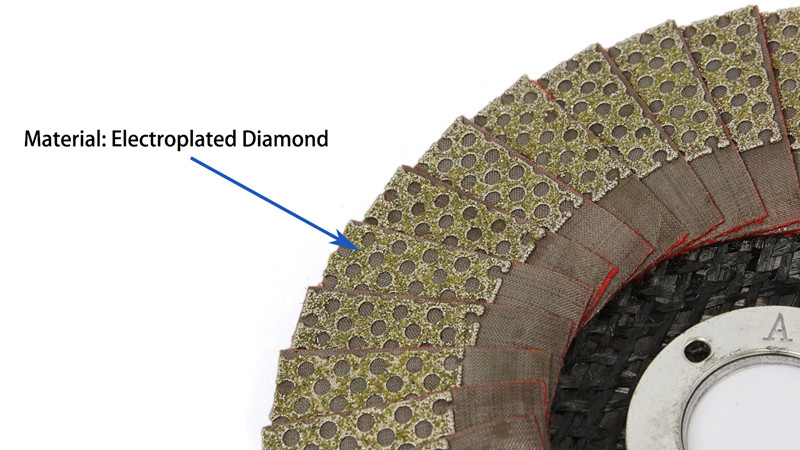 4 Inch Diamond Flap Sanding Disc