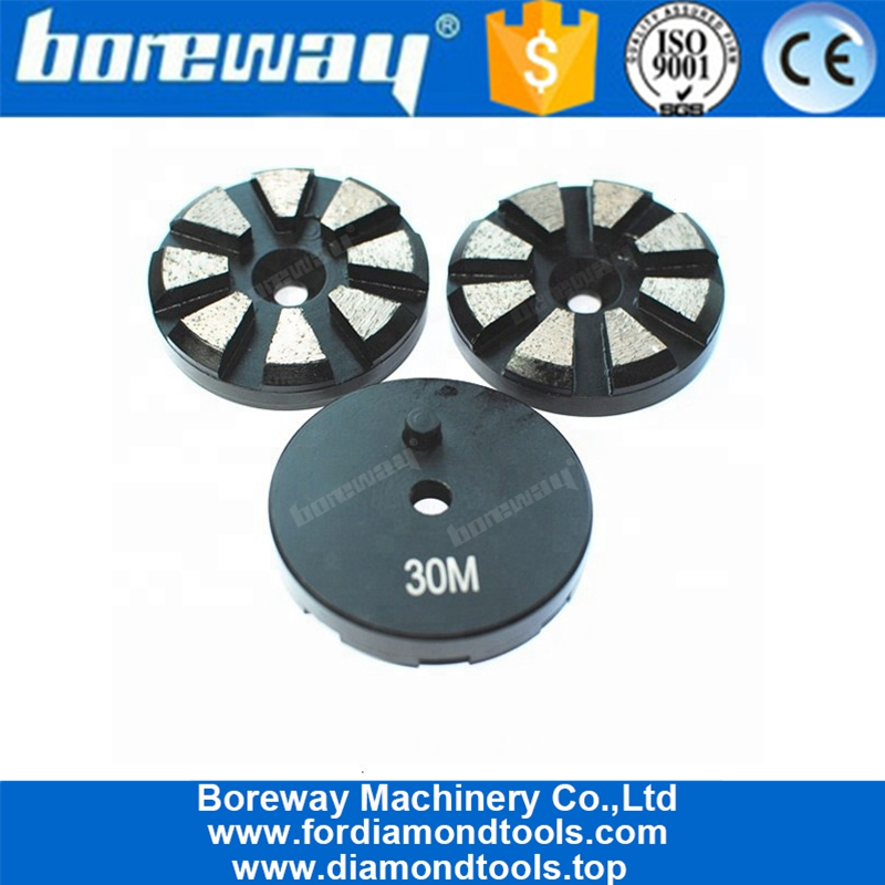 3 Inch Diamond Circular Shape Metal Bond Grinding Pad For Grinder