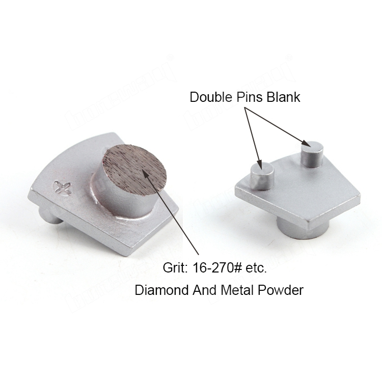 Two Pins Diamond Grinding Block