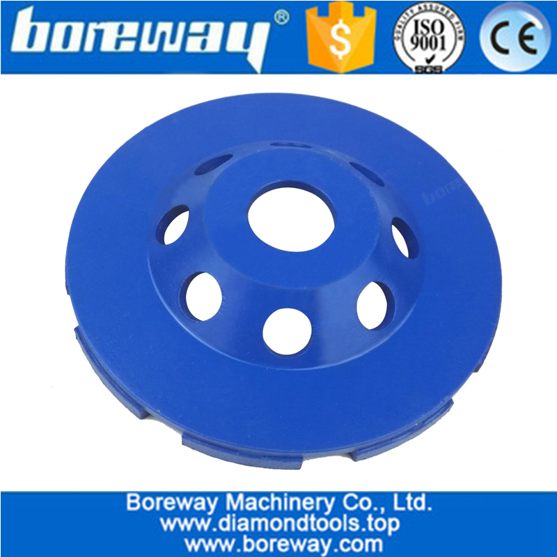 Double Row Segmented Diamond Cup wheel supply double row surface grinding wheel