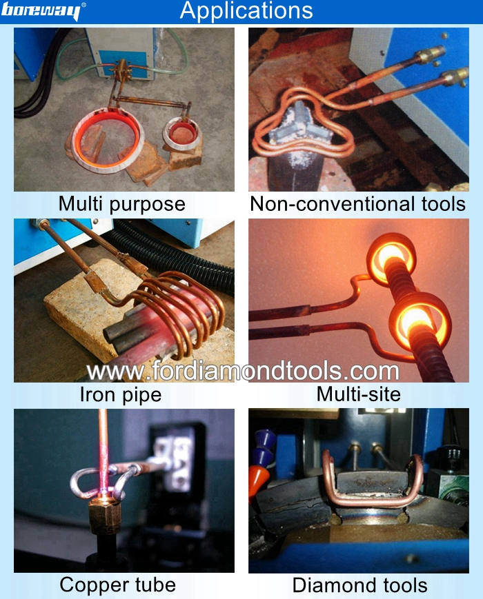 high frequency induction heating machine application