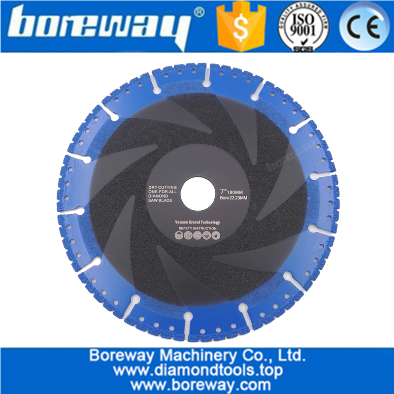 115MM Vacuum Brazed Diamond Blade for All Purpose For stone iron steel Demolition Blade