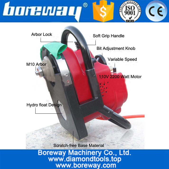 Best Quality Portable Stone Edge Profile Router Machine for sale Stone Profile Grinder 02