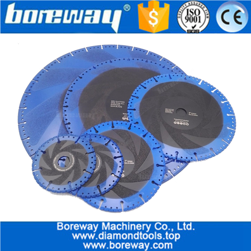 Vacuum Brazed Diamond Blade for All Purpose For stone  Demolition Blade
