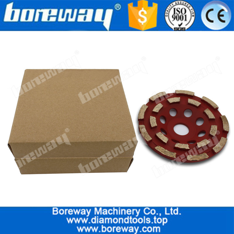Professional 125mm welding diamond cup wheel for concrete