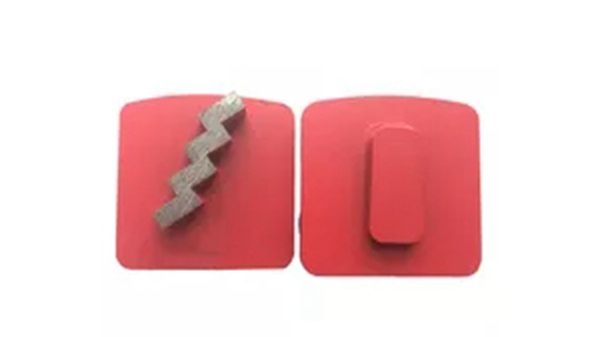 Diamond Concrete Grinding Tools With Single Stair Segments