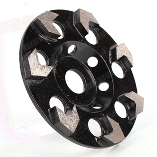 7 Arrow Segments Grinding Wheel