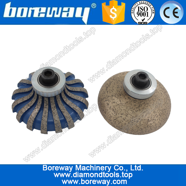 F30*M10 protable diamond router bits for stone slabs