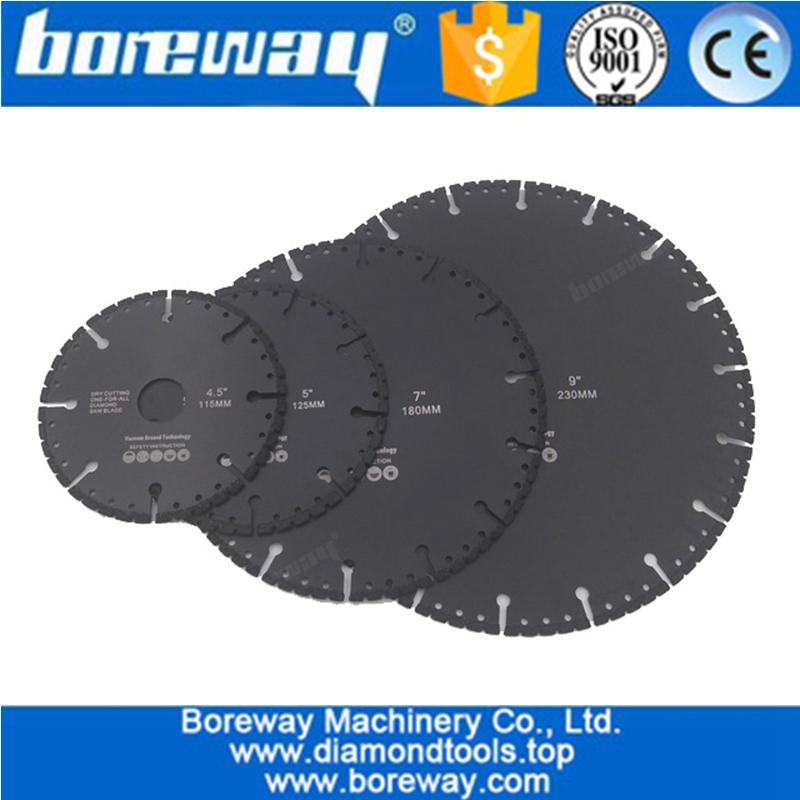 Vacuum Brazed Diamond Blade for All Purpose Demolition Blade For stone iron steel