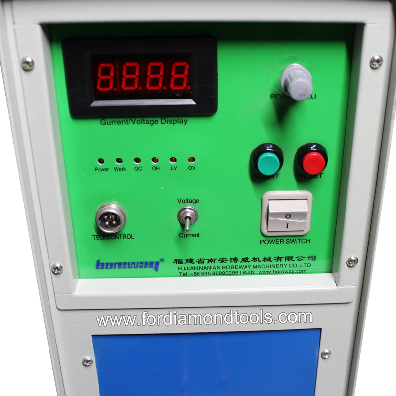 20KW High frequency induction heating machine single phase 220V welding machine 02