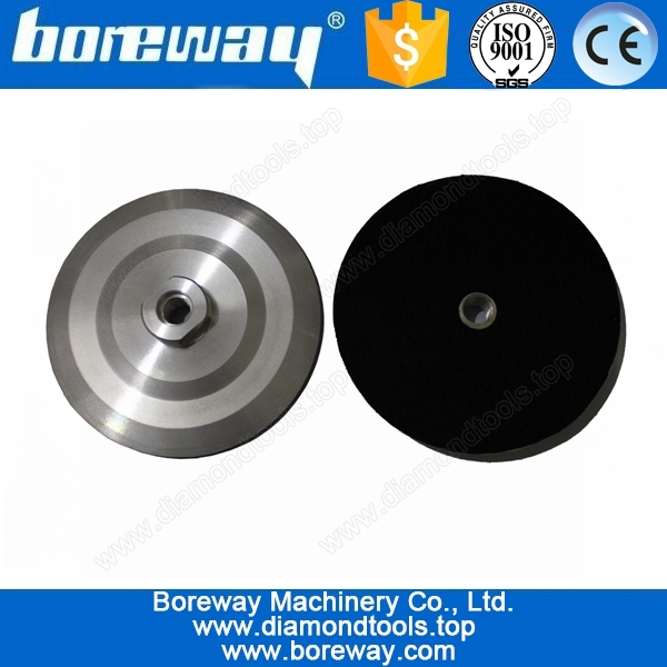 aluminium backer for diamond polishing pads