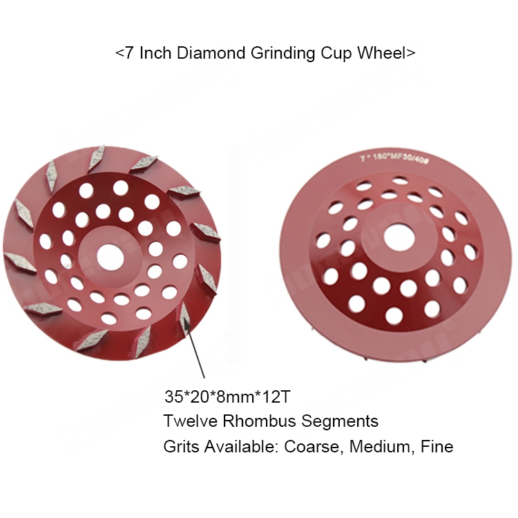 7 Inch Concrete Cup Wheel