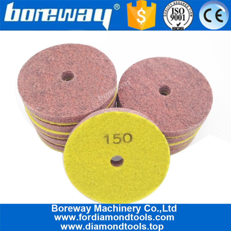 Sponge Polishing Pad for sandstone jade travertine