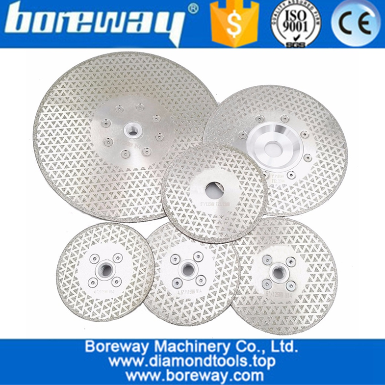 Electroplated diamond saw disc for granite & marble