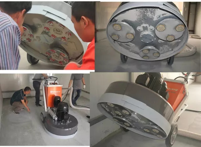 Concrete Grinding Plate