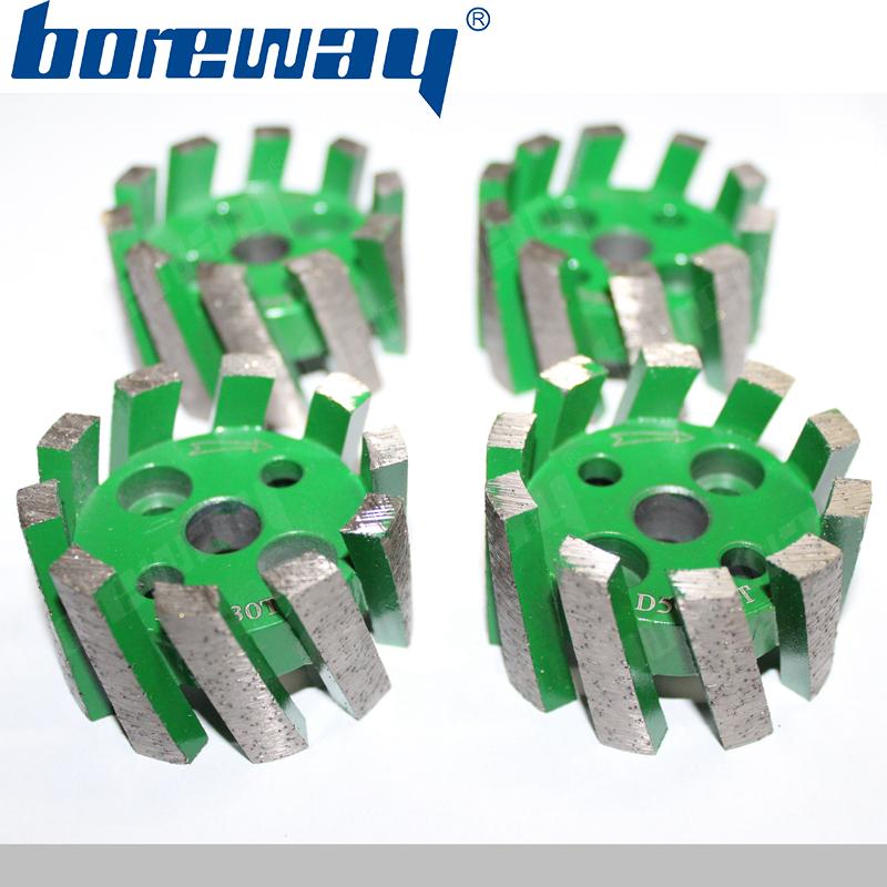 D50*30T*10H diamond heavy duty stubbing wheel without adapter