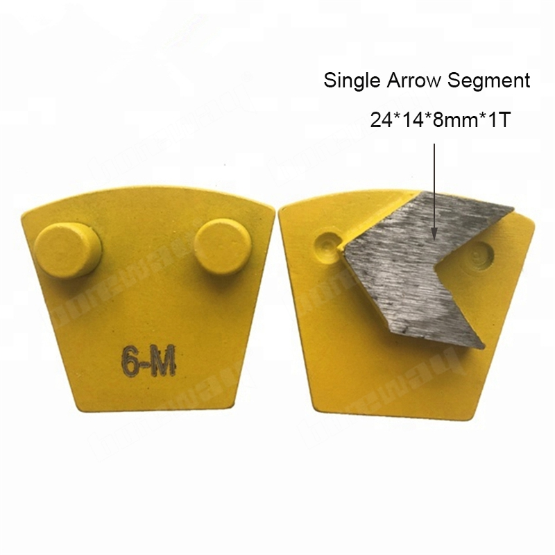 Single Segment Two Pins Grinding Shoes