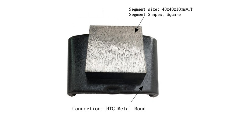 HTC Concrete Grinding Shoe