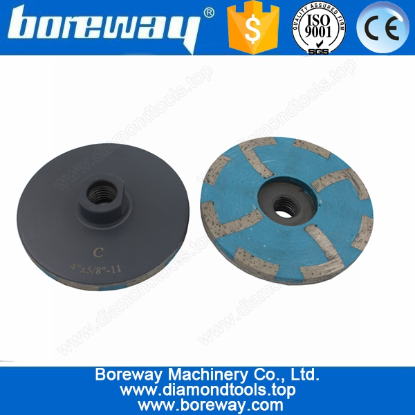 Coarse Resin Filled Diamond Cup Grinding Wheel D100*5/8