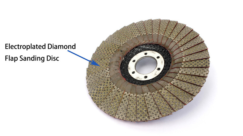 5 Inch electroplate flap sanding discs